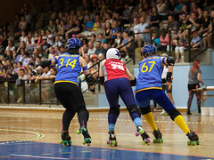 """Stockholm BSTRDs vs. Dock City Rollers-23 • <a style=""""font-size:0.8em;"""" href=""""http://www.flickr.com/photos/60822537@N07/8995163379/"""" target=""""_blank"""">View on Flickr</a>"""