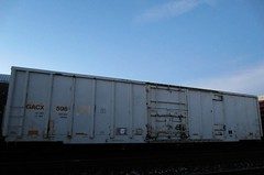 GACX 598 (YardJock) Tags: yard train tracks railway boxcar freight