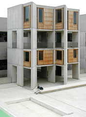 Salk Institute (faasdant) Tags: ocean california ca plaza wood water architecture modern concrete for louis seaside pacific lajolla institute architect kahn research laboratory travertine minimalist biological salk studies beton brutalist 1963 teak brut reinforced sitecast