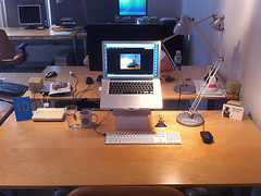 My Desktop June 13 (Mingo.nl) Tags: desktop office mac eline cdp macbookpro cleandeskpolicy