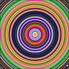 circles-more9 (subwave) Tags: orange abstract color art random circles minimal ring popart sphere round target delirium concentric hypnotic
