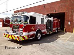 Forney, TX FD Engine 1 (FiremanRW) Tags: crimson engine firetruck spartan pumper