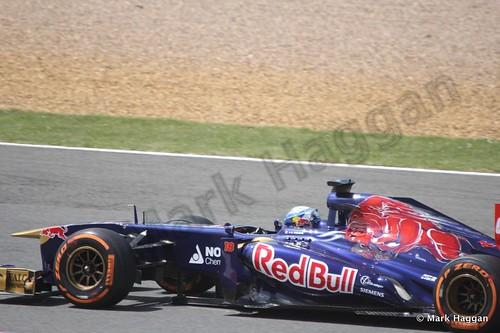 Jean-Eric Vergne in the 2013 British Grand Prix