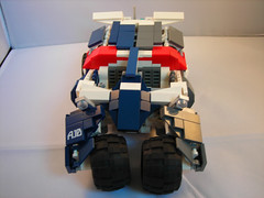 Gorilla top down (lost_scotsman) Tags: marine lego space scifi vehicle warthog tumbler