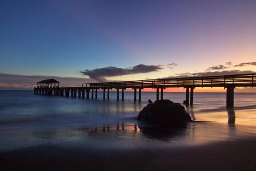Twilight at Waimea Pier