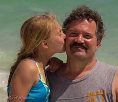 Bella & Papa (Rick Smotherman) Tags: ocean sky beach gulfofmexico nature water canon children outdoors florida may grandkids destin runningwater t3i canon1585mmlens
