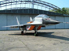 "MiG-29 (4) • <a style=""font-size:0.8em;"" href=""http://www.flickr.com/photos/81723459@N04/9376315280/"" target=""_blank"">View on Flickr</a>"