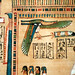 Hunefer's Book of the Dead, detail with eye of Horus
