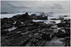 Taraje (Jokoleo) Tags: motion beach rock stone wave move silence serenity serene lonely tranquil tanjung karang taraje bayah layar sawarna banten