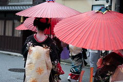 Gion Hassaku 2013 (Aiganaiguy) Tags: japan umbrella kyoto maiko gion