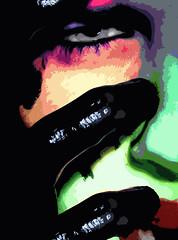 Depression (TYLERHEBERT) Tags: new gay black eye art face dark photography louisiana colorful spirit pop tyler age soul depression expressionism conceptual spiritual hebert tylerhebert beautyler