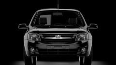 Lada Granta (Artem Yuldashev) Tags: black car blackbackground 3d russia render lada studiophoto 3dmodel russiancar vray 3dmax granta avtovaz ladagranta