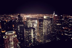 the city that never sleeps (michsela) Tags: nyc newyork home lights top manhattan bigapple