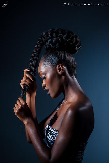 Esther (Creative Hair Shoot)