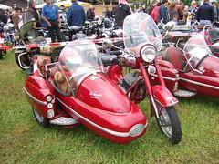 JAWA 350  -  1961 (John Steam) Tags: festival vintage germany bayern motorbike 350 brewery motorcycle oldtimer jawa 1961 sidecar motorrad beiwagen gespann misiu brauereifest schoenram oldtimertreffen schnram