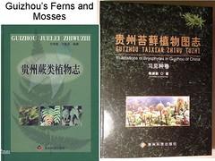 Guizhou's Ferns and Mosses  《贵州蕨类植物志》《贵州苔藓植物图志》