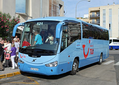 Ultramar 0720 HJS, Volvo B9R in Inca (majorcatransport) Tags: inca volvo irizar majorcabus ultramarexpress