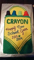 Crayon cake by Jaime, Battle Creek, MIchigan, www.birthdaycakes4free.com