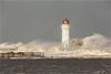 New Brighton Lighthouse Storm (Chris Beard - Images) Tags: uk winter sea england lighthouse seascape landscape coast december newbrighton merseyside stormlight newbrightonlighthouse