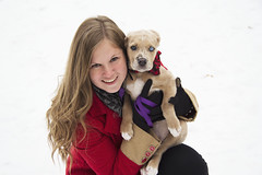 Kayce and Gentry (goalkeeper07) Tags: christmas winter red snow tree puppy penguin panda university texas fort kisses christian pi bow worth alpha tcu conner gentry kayce pulliam catahoula aoii omicron denkhaus