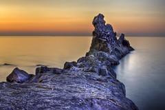 Rock of Galeazza (danilodld) Tags: sea italy nature water landscape italia liguria natura acqua hdr paesaggio h20 imperia dld 2013 nikond5000 hdrdld