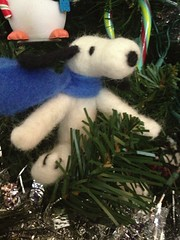 Needlefelted Snoopy (wickedbear) Tags: madeit uploaded:by=flickrmobile flickriosapp:filter=nofilter