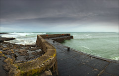 Stormy Afternoon at Easkey Harbour, Co. Sligo (Tony Murphy) Tags: