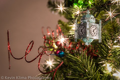 3/365 - One more night... (Kevin Klima Photography) Tags: christmas xmas chicago tree clock ornament macys marshallfields