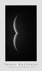 Lunar Buttocks (FotoGrazio) Tags: moon art ass sex night erotic wayne butt bottom erotica sensual crescent buns porn sexual curve curved lunar buttocks bun waxing suggestive celestial buttock grazio fotograzio