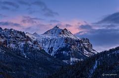 San Juan Sunset (Turret Ridge and Dunsinane Mountain) (craig goettsch) Tags: sunset landscape nikon colorado gravelroad silverjackreservoir owlcreekpass d7000 flickrsfinestimages1 flickrsfinestimages2