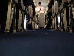 We wish you a pleasant flight (P  r l  n o i r) Tags: trolley aircraft flight lufthansa attendant avion steward embraer flightattendant vliegtuig maaltijd stewardes purser onboardmeal vliegtuigmaaltijd htessedelair cabinseats embraer90 wijwensenueenprettigevlucht