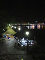 Kuching Waterfront am Sungai, Sarawak, Borneo / Malaysia (anschieber | niadahoam.de) Tags: borneo kuching 2012 nachtaufnahme kuchingwaterfront 201203 sarawakmalaysia