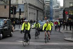 2014 Bike 180 Day 8 January 23 (moonbug2) Tags: morning london bike cycling traffic rushhour