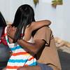 Hot and Heavy (Steve Crane) Tags: people woman man public southafrica women hug kiss kissing couple affection gordonsbay westerncape helderberg bikinibeach