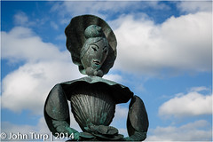Mrs Booth (JayTeaUK) Tags: mrsbooth sculpture publicart turner margatepier johnturp
