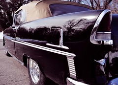 """1955 Chevy Bel-Air Convertible • <a style=""""font-size:0.8em;"""" href=""""http://www.flickr.com/photos/85572005@N00/12443704014/"""" target=""""_blank"""">View on Flickr</a>"""