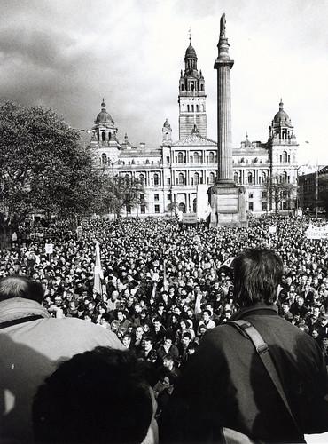 Scotland United Demo George Square 1990s