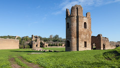 The Circus of Maxentius (Robert Wash) Tags: italy rome roma archaeology architecture ancient ruins italia roman ruin appianway antiquity maxentius viaappia classicalantiquity circusofmaxentius