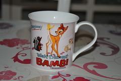 Mug Bambi (MissLilieDolly) Tags: flower bunny fleur mr disney deer collection le owl mug bambi dolly miss lilie monsieur thumper panpan hibou biche fline missliliedolly