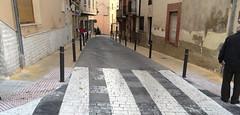 Obras de mejora en la Calle Ravalet