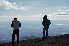 (Peppe[RestiamoUmani]) Tags: mountain clouds sicily etna catania sicilia vulcano craterisilvestri flickrsicilia