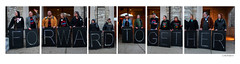 Portrait of Holders of the Light and Solidarity Singers (In Hexaptych) (sperophotography) Tags: people solidarity madison sing along tych wisonsin bethellutheranchurch overpasslightbrigade moralmonday holdersofthelight moralmondaymovement