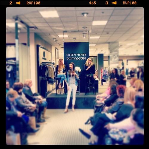 #EileenFisher #Bloomingdales #fashion #Spring2014 #showroom #models