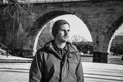 Tough as nails (Landon Momberg) Tags: winter portrait white snow black minnesota canon lens rebel cool minneapolis jacket dslr mn landon 3ti momberg