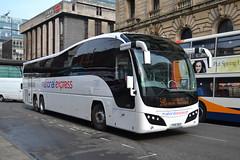 National Express Volvo B9R YX14SGV - Manchester (dwb transport photos) Tags: manchester volvo coach elite nationalexpress plaxton yx14sgv