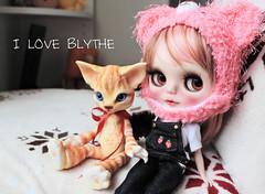 Blythe&cat