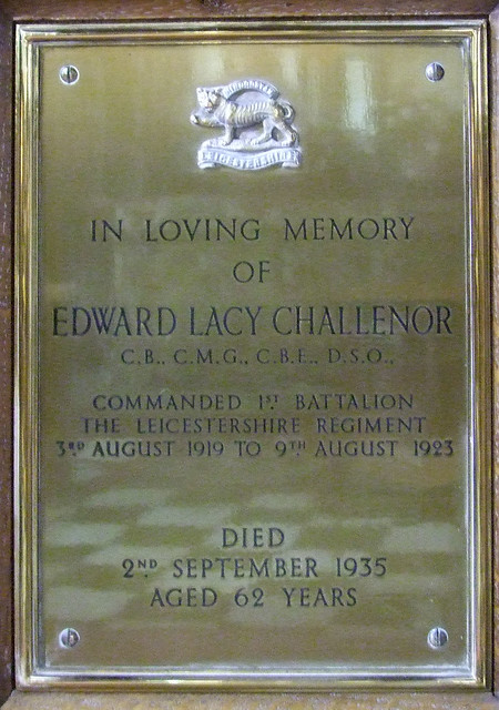Edward Lacy CHALLENOR