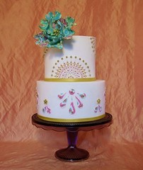 Edible Image Cake (Jeanne Winslow) Tags: edibleimage fantasyflower