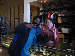"""Ayo wanna take a photo for Instagram?"" (Billy Danze.) Tags: chicago army belmont hiphop sharkula thig thigahmajiggeee"