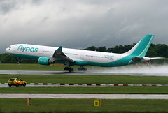 CS-TRI (G-650) Tags: cstri airbus a330300 flynas hifly man manchester uk egcc daerq airport ringway aviation flight transport planespotting photography aerospace rain eiheb daaeb